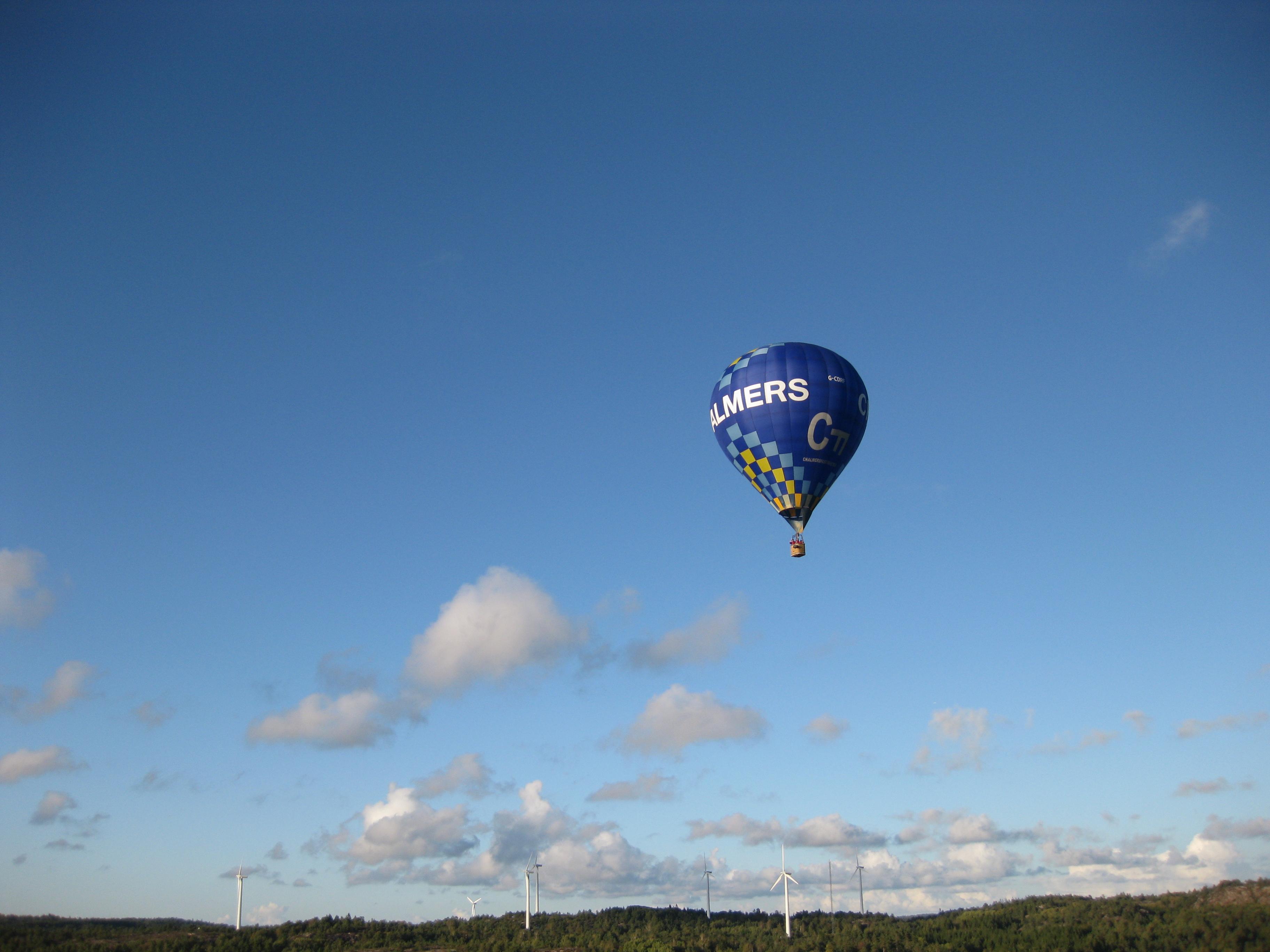 Chalmersballongen över Tanum